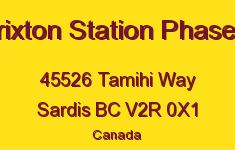 Brixton Station Phase Ii 45526 TAMIHI V2R 0X1