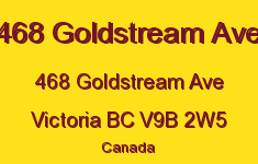 468 Goldstream Ave 468 Goldstream V9B 2W5