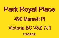 Park Royal Place 490 Marsett V8Z 7J1