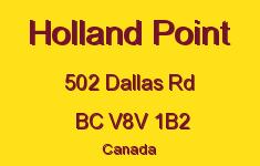Holland Point 502 Dallas V8V 1B2