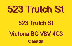523 Trutch St 523 Trutch V8V 4C3