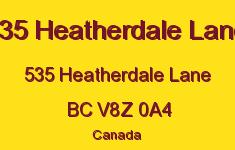 535 Heatherdale Lane 535 Heatherdale V8Z 0A4