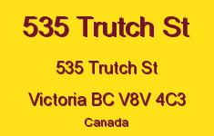 535 Trutch St 535 Trutch V8V 4C3