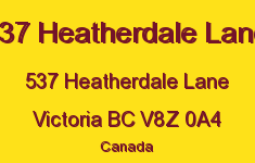 537 Heatherdale Lane 537 Heatherdale V8Z 0A4