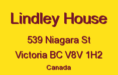 Lindley House 539 Niagara V8V 1H2