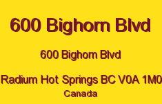 600 Bighorn Blvd 600 Bighorn V0A 1M0