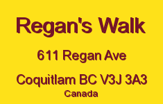 Regan's Walk 611 REGAN V3J 3A3