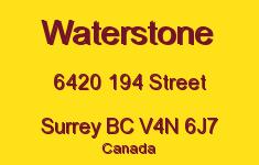 Waterstone 6420 194 V4N 6J7
