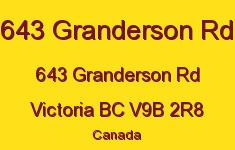 643 Granderson Rd 643 Granderson V9B 2R8