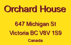 Orchard House 647 Michigan V8V 1S9