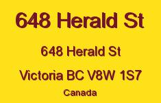 648 Herald St 648 Herald V8W 1S7