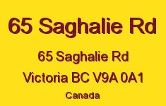 65 Saghalie Rd 65 Saghalie V9A 0A1