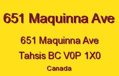 651 Maquinna Ave 651 Maquinna V0P 1X0
