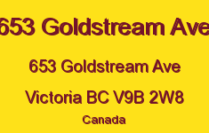 653 Goldstream Ave 653 Goldstream V9B 2W8