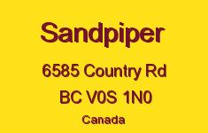 Sandpiper 6585 Country V0S 1N0
