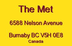 The Met 6588 NELSON V5H 0E8
