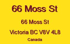 66 Moss St 66 Moss V8V 4L8