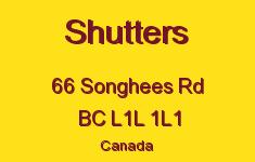 Shutters 66 Songhees L1L 1L1