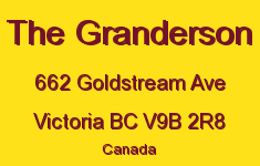 The Granderson 662 Goldstream V9B 2R8
