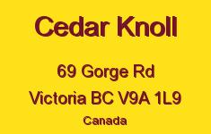 Cedar Knoll 69 Gorge V9A 1L9