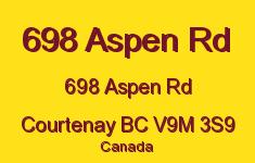 698 Aspen Rd 698 Aspen V9M 3S9