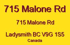 715 Malone Rd 715 Malone V9G 1S5