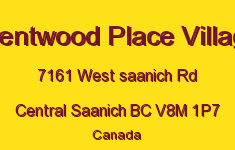 Brentwood Place Village 7161 West Saanich V8M 1P7