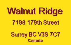 Walnut Ridge 7198 179TH V3S 7C7