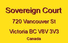 Sovereign Court 720 Vancouver V8V 3V3