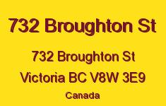 732 Broughton St 732 Broughton V8W 3E9