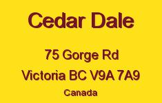 Cedar Dale 75 Gorge V9A 7A9