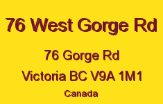 76 West Gorge Rd 76 Gorge V9A 1M1