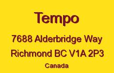 Tempo 7688 ALDERBRIDGE V1A 2P3