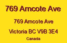 769 Arncote Ave 769 Arncote V9B 3E4