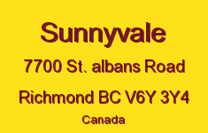 Sunnyvale 7700 ST. ALBANS V6Y 3Y4