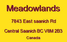 Meadowlands 7843 East Saanich V8M 2B3