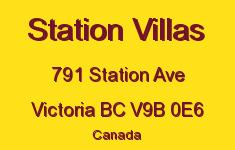 Station Villas 791 Station V9B 0E6
