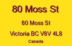 80 Moss St 80 Moss V8V 4L8