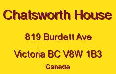 Chatsworth House 819 Burdett V8W 1B3