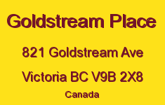 Goldstream Place 821 Goldstream V9B 2X8