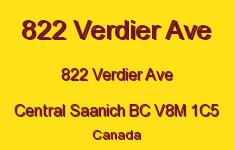 822 Verdier Ave 822 Verdier V8M 1C5