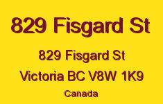 829 Fisgard St 829 Fisgard V8W 1K9