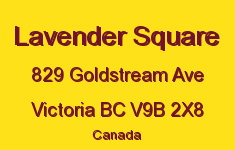 Lavender Square 829 Goldstream V9B 2X8
