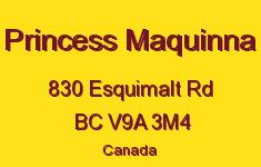 Princess Maquinna 830 Esquimalt V9A 3M4