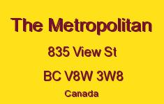 The Metropolitan 835 View V8W 3W8
