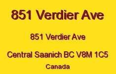 851 Verdier Ave 851 Verdier V8M 1C5