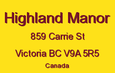 Highland Manor 859 Carrie V9A 5R5