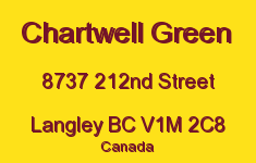 Chartwell Green 8737 212ND V1M 2C8