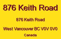 876 Keith Road 876 KEITH V0V 0V0