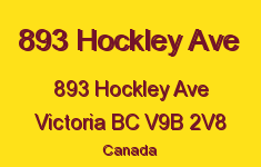 893 Hockley Ave 893 Hockley V9B 2V8